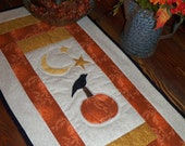 This one has sold, custum order for something very very similar : )  Table Runner