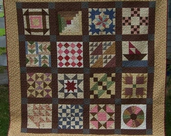 Civil War Quilt- Reserved (sold) Made to order listing.