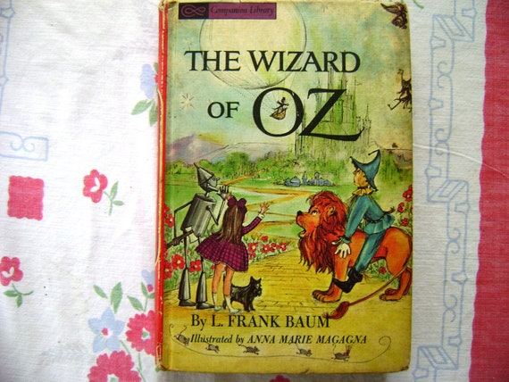 The Wizard of Oz by L Frank Baum and Kiplings The Jungle Book in one book 1963