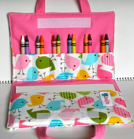 Crayon Art Wallet - Urban zoologie - Tweet Tweet
