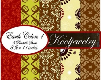 Earth colors Paper Pack - No.69