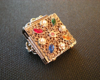Vintage Picture Locket Bracelet