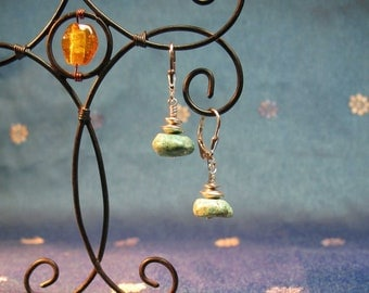 Earthy Turquoise Earrings