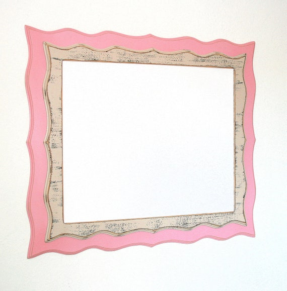 20x30 Picture frame Shabby chic Twin Stacked Whimsical Picture Frame ...