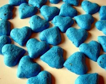 Offbeat Wildflower Flower Seeds - Cobalt Wedding Favors - Offbeat Wedding Favors - Seed Bombs
