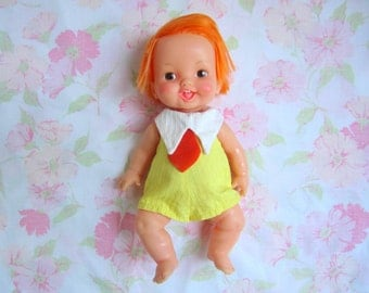 1970's Belly Button Baby Doll . Ideal Toy Corp.