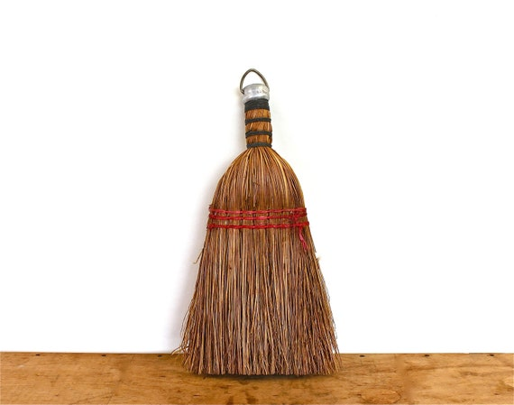 Keep It Clean - Antique Straw Hand Whisk - Antique Broom