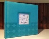 My Favorite Recipe Book - Recipe organizer w/ recipes included