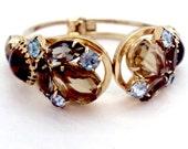 Stunning Vintage Juliana Clamper Bracelet