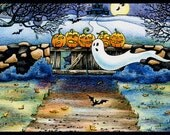 HALLOWEEN Decoration Art Print For Kids
