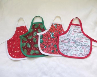 Holiday Dish Soap Bottle Aprons - You Choose One