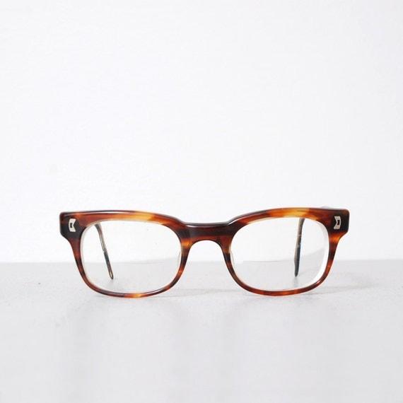 1960s Tortoise Shell Wayfarer Glasses