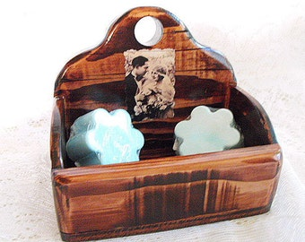 Soap, coffee, tea, candy caddy for the bride