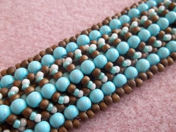 KIT Duvet Bracelet Turquoise Colors