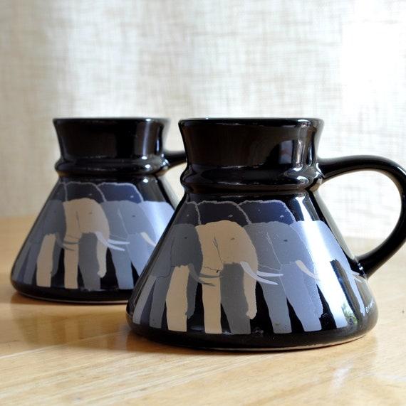 "otagiri t taylor ""tuskers"" travel mugs"