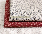 Chic Cherry Blossom Rain-Japanese Traditional Cotton Fabric (Fat Quarter)