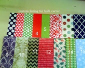 CUSTOM LISTING- for Holli Carter - 2 sets of 8 gift tags