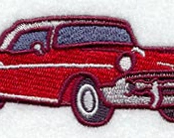 1957 Chevy Bel Air Embroidered Terry Kitchen Towel  Bathroom Hand Towel