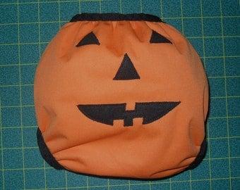 Pumpkin Butt PUL diaper cover