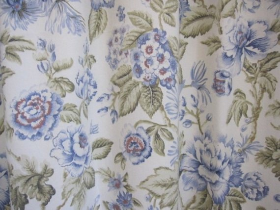 Fabric Home Decor Fabric Jacobean Floral Fabric 1 by