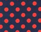 Michael Miller Quarter Dots in Twilight - 1 yard Listing