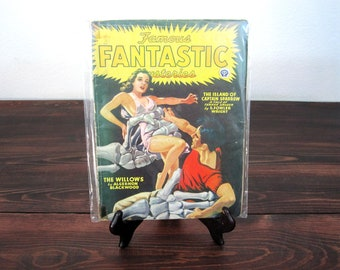 Vintage Apr. 1946 Famous Fantastic Mysteries / Fictional Magazine