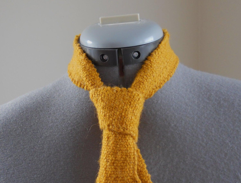 Knitted Necktie Pattern : Knitting Pattern PDF Knitted Necktie