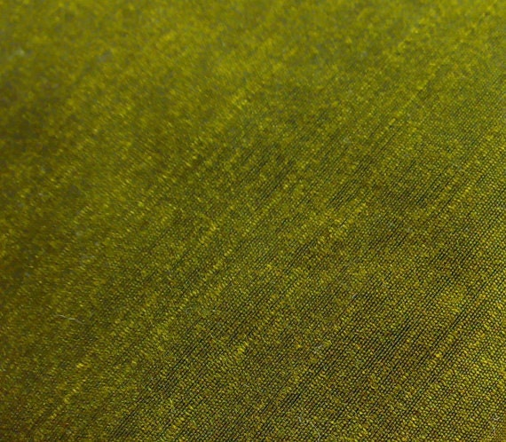 Dupioni Silk Fabric Henna Green Quarter Yard