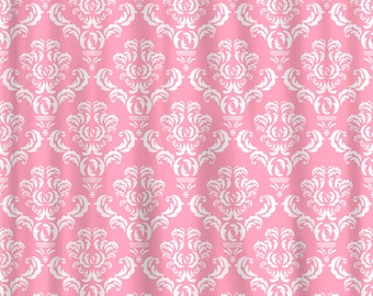 Custom Personalized Damask Shower Curtain - Any Colors Your Choice
