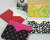 Accessory Case 5 pack wholesale shower gifts ipod, cell phone, money, camera case gift card holders