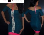 Bodycon off the shoulder Pencil Dress ...MONEY MAKING chic... Sample sale