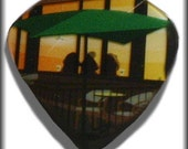 Limited Edition-Starbucks Cafe-Guitar Pick-Upcycled Gift Card-Med Guitar Pick