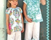 Spring Break Tunic and Capris Pattern for girls sizes 2T-14