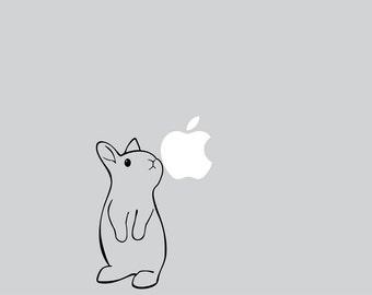 Laptop Dwarf Rabbit Decal