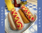 Hot Dog PDF Crochet Pattern