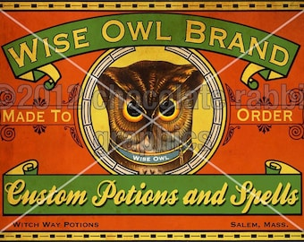Halloween Potion Labels Vintage Witch Instant Digital Download Printable Clip Art Collage Sheet