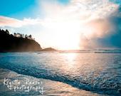 SALE Pacific Blue Sunset (8x10 print)
