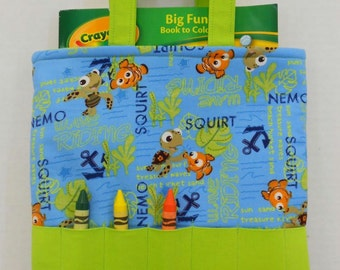Finding Nemo Crayon Tote