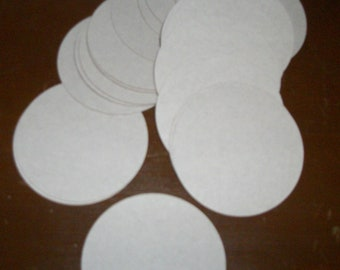 "2"" Chipboard Circles for Your Crafting Needs"