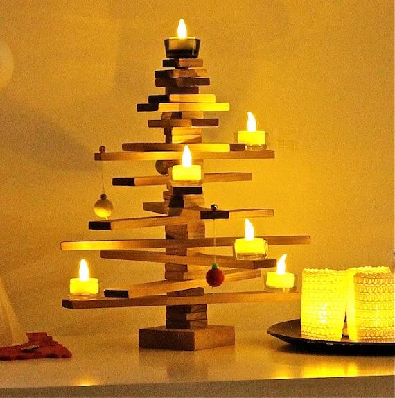 Tabletop Timber Christmas Tree