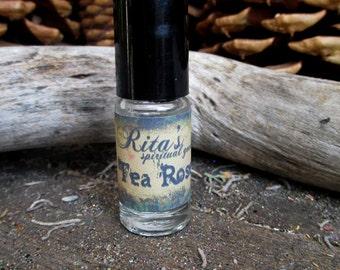 Rita's Tea Rose Hoodoo Ritual Oil - Release Troubles, Luv, Luck, Attract Good Spirits