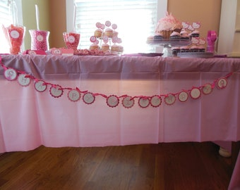 Princess Banner, Princess sign, Fairy Banner, Princess party