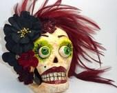Paper Mache Skull BETTY