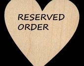 Reserved Order for Gladys
