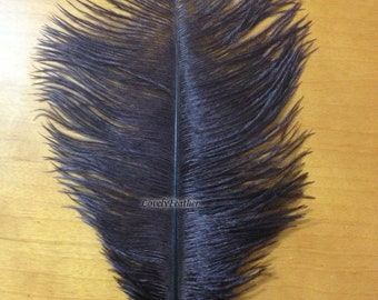 10 Pieces beautiful brown Ostrich plumage feathers