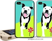 Pit Bull iPhone 6, iphone 5 Case, iphone 5c, iphone 4/4s Dog Cover, Pitbull iPhone Case