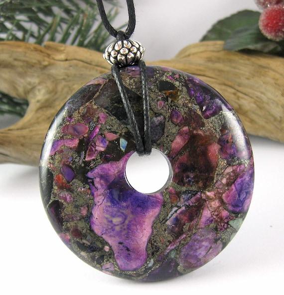 Sugar Plum Nursing Necklace - Grass Flower Jasper & Pyrite - Nursing Breastfeeding Necklace