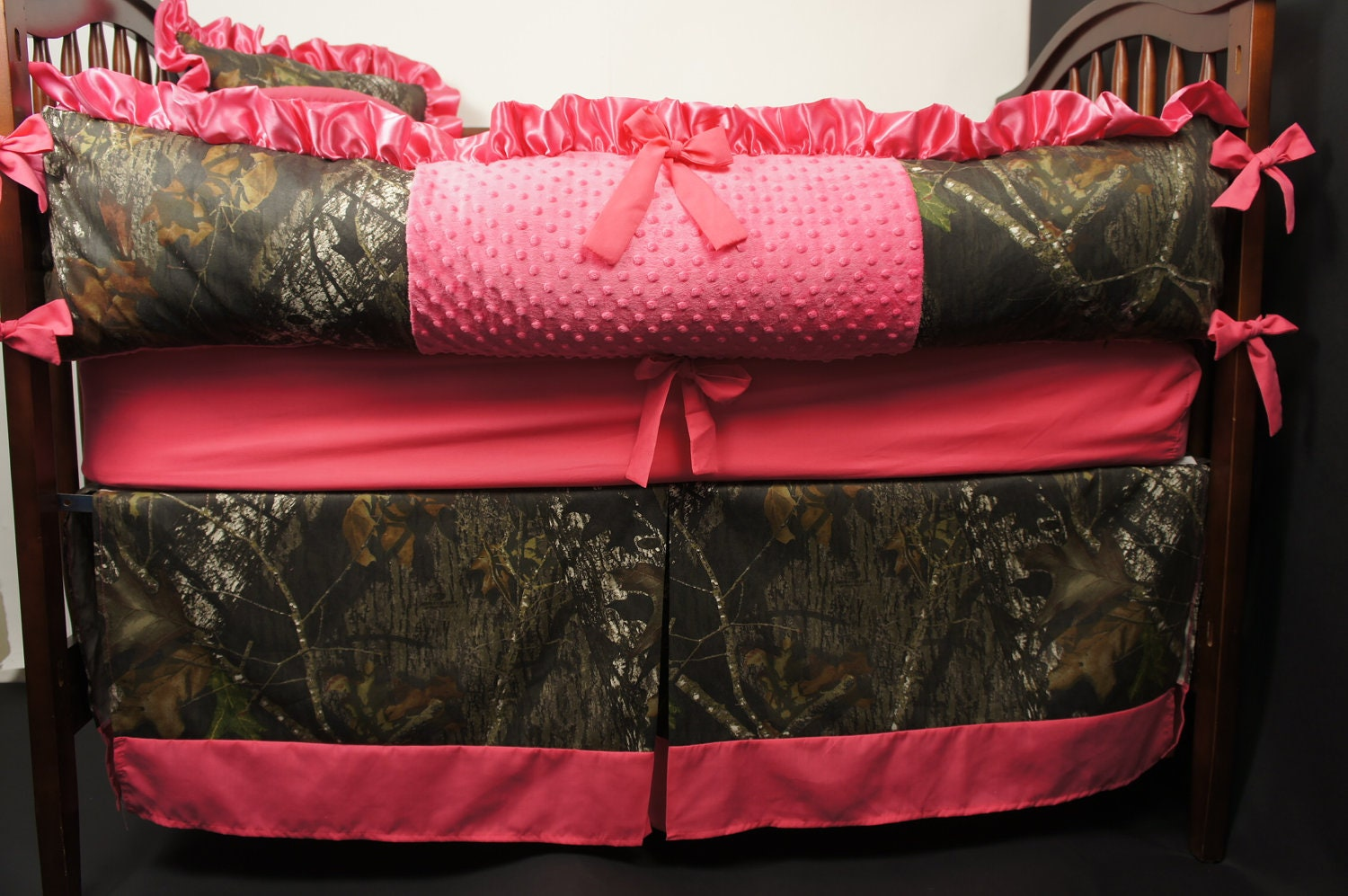 Custom Made Baby Crib Bedding Mossy Oak Camo With By Babylooms