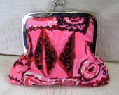 Vintage pinkl coin purse