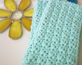 Dish/Facial Cloths.....set of 2 in Soft Mint